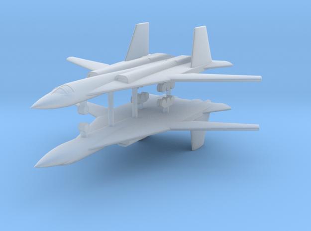 1/600 PAK-DA Stealth Bomber (x2) in Smooth Fine Detail Plastic
