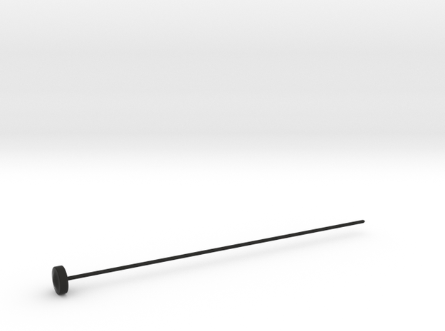 Single Piece Kniting Needles in Black Strong & Flexible