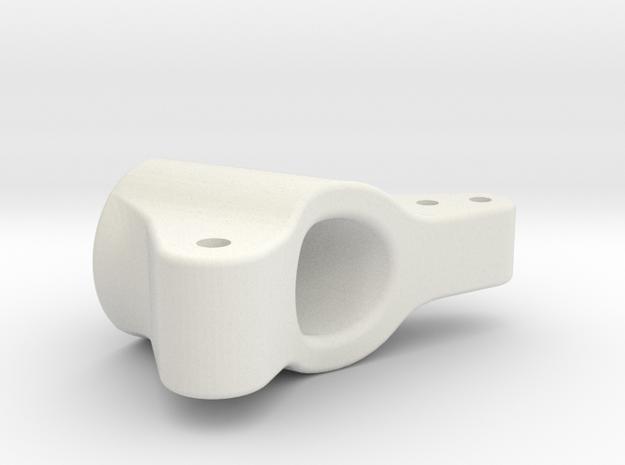 C&M COBRA - REAR HUB CARRIER - 11-19-2014 in White Natural Versatile Plastic