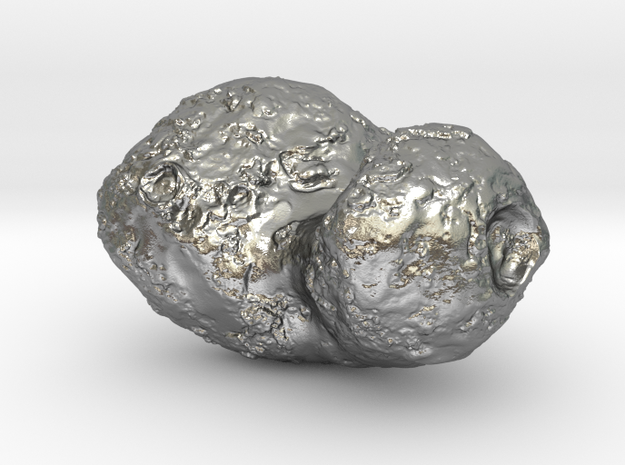 Comet 67P in Raw Silver