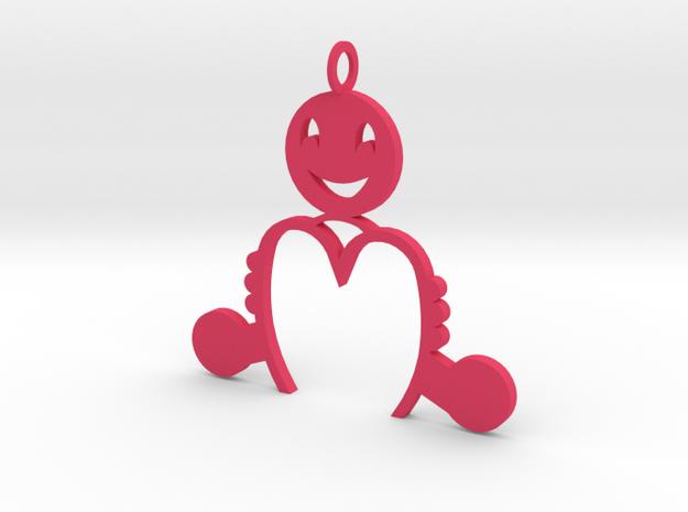 Niño M in Pink Processed Versatile Plastic