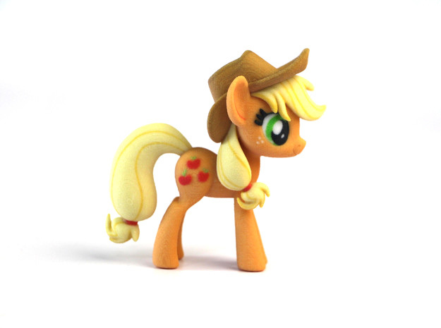 My Little Pony - Applejack (≈75mm tall) 3d printed