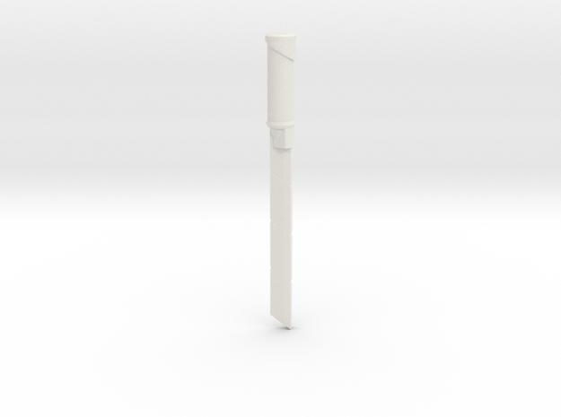 Assassins Blade in White Natural Versatile Plastic