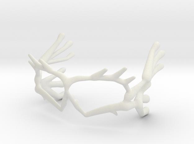 EyeCreacher in White Natural Versatile Plastic