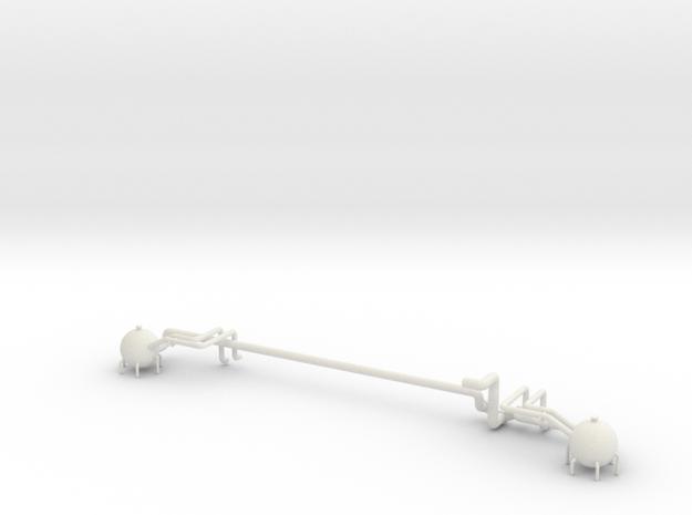 Fuel Manifold Aft V0.2 in White Natural Versatile Plastic