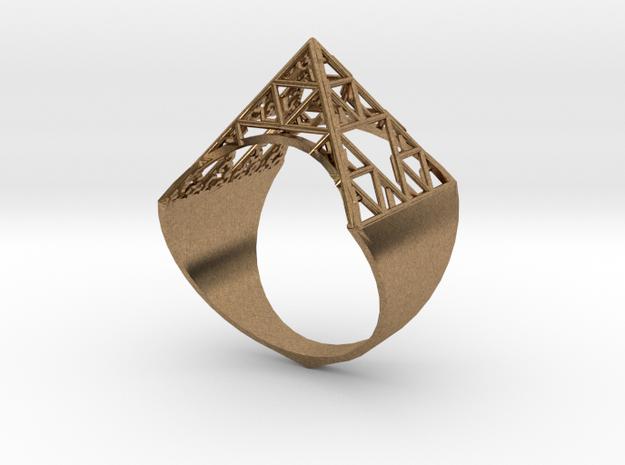 Sierpinski Pyramid Ring (feminine version) size 9
