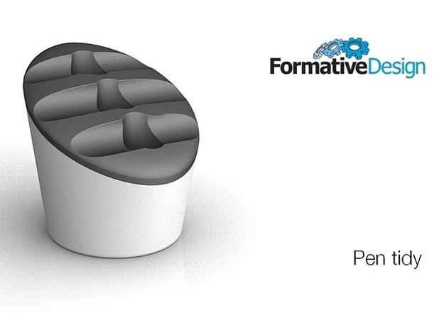 PENRACK 07 lid 3d printed