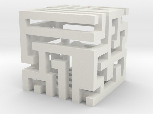 cube_05 in White Natural Versatile Plastic