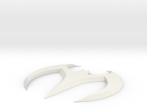 Batman Beyond Batarang in White Strong & Flexible