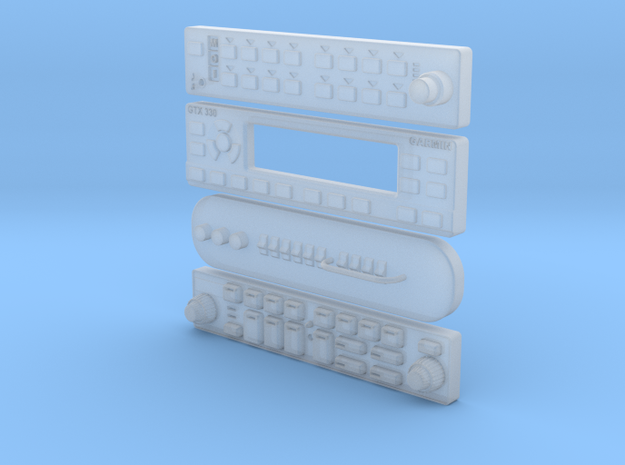 RADIOS 1:6 scale 3d printed