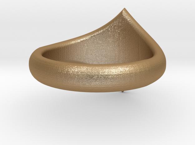 R Star Ring 3d printed