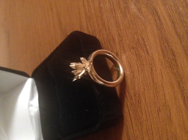Catalyst Ring-10 mm in 14K Yellow Gold