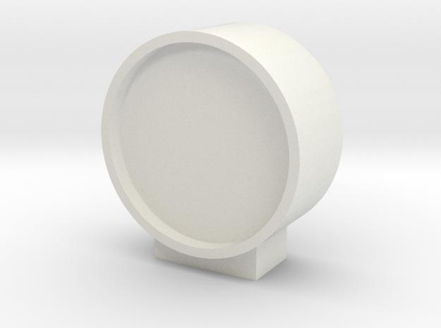 DSB/BDK Perron ur med fod/beslag 1/87 in White Natural Versatile Plastic