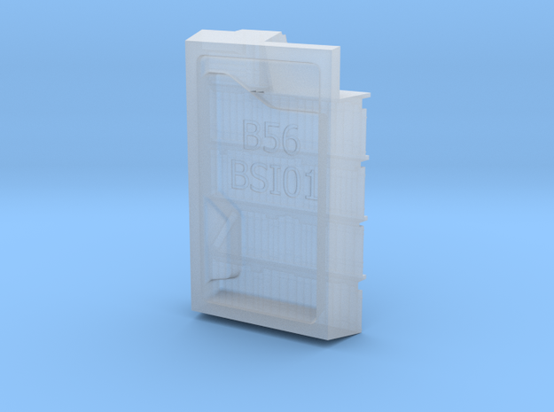1/56th (28mm) Book shelf insert (01) in Smooth Fine Detail Plastic