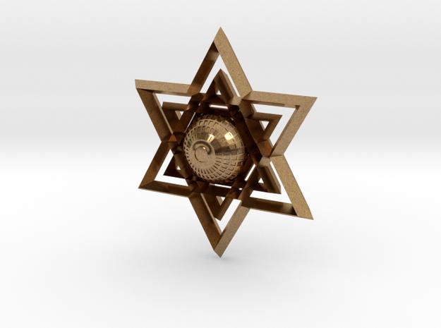 Judaism in Natural Brass