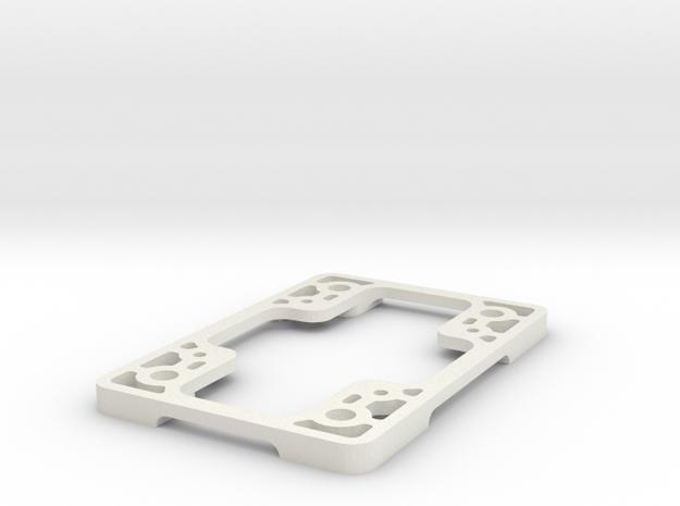Tarot 680pro adapter Omnimac pixhawk mount revised in White Natural Versatile Plastic