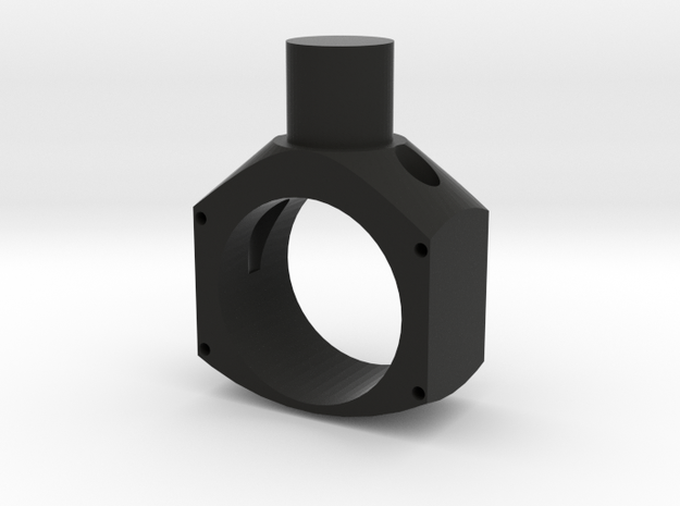 Spitfire Lower Control Column casing in Black Natural Versatile Plastic