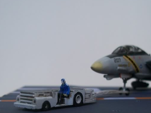 028B MD-3 Tow Tractor Pair 1/144 3d printed Figure and plane not included.