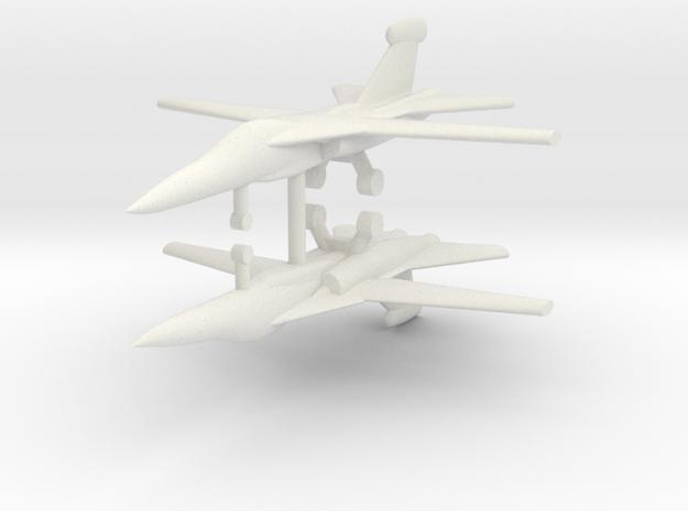 1/285 EF-111 Raven (x2) in White Natural Versatile Plastic