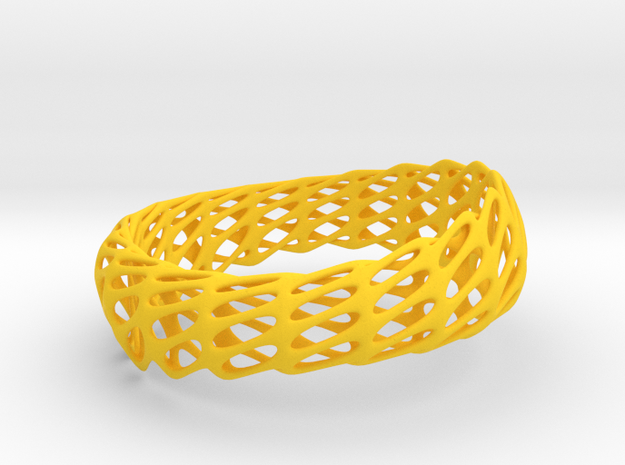 Twisted Ellipses (Sz S/M) 3d printed