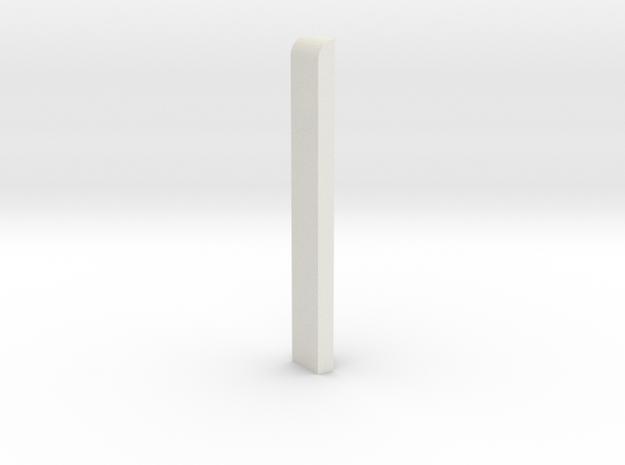 Rejsekortet stander 1/87 in White Natural Versatile Plastic