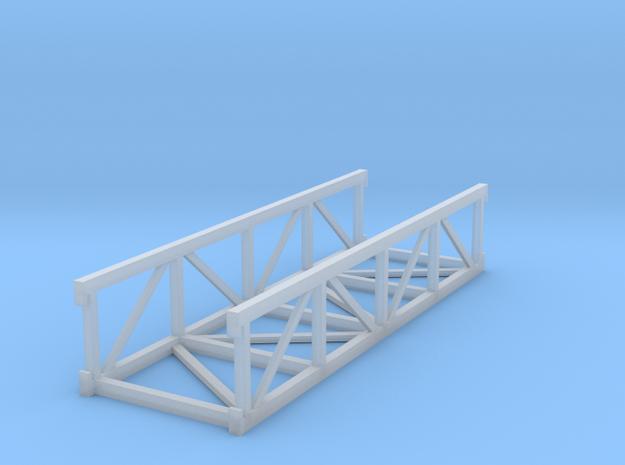 'N Scale' - 20' Long Conveyor Bridge in Smooth Fine Detail Plastic