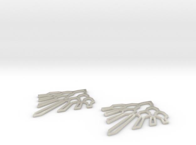 Victoria Earings 3d printed