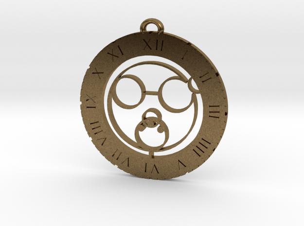 Logan - Pendant in Natural Bronze