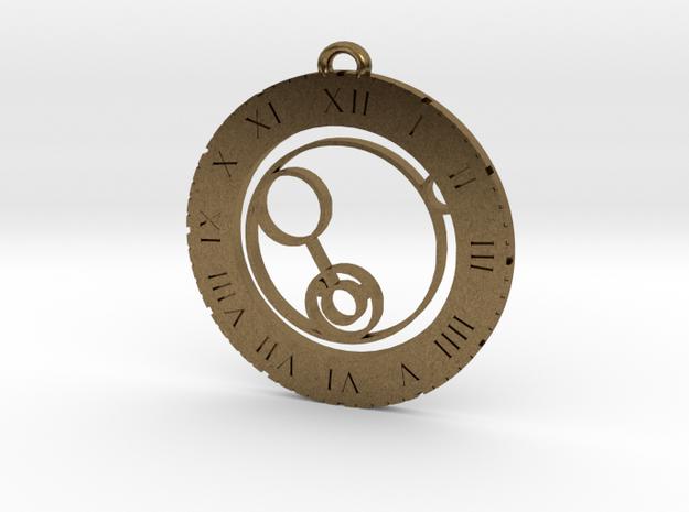 Kian - Pendant in Natural Bronze