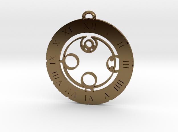 Jayden - Pendant in Polished Bronze