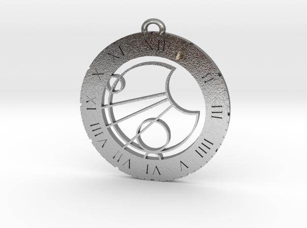 Jace  / Jase - Pendant in Raw Silver