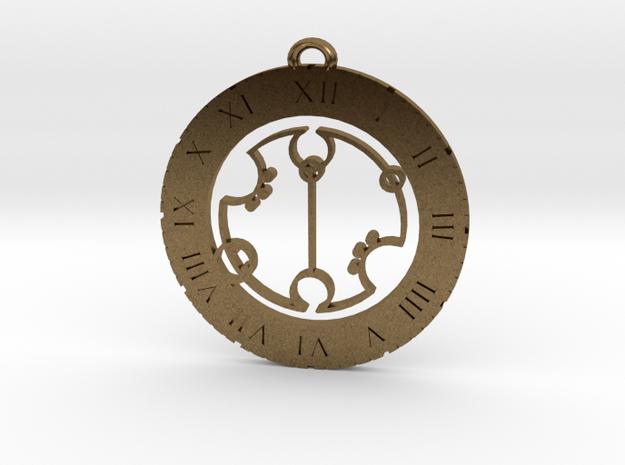 Gregory - Pendant in Natural Bronze