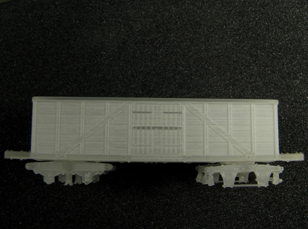 R11 N scale 1840 Winans boxcar, Württemberg 3d printed
