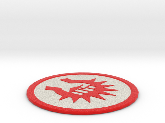 Boros Coaster in Full Color Sandstone