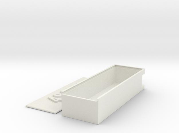 Battery Case 4S 3000 in White Natural Versatile Plastic