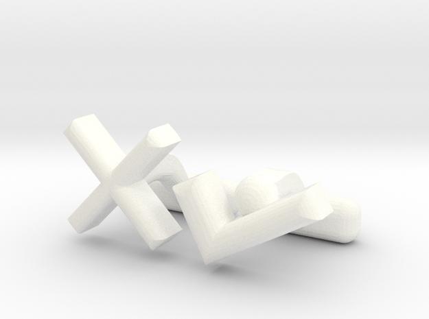 XTICK CL in White Processed Versatile Plastic