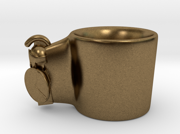 Cup in Natural Bronze