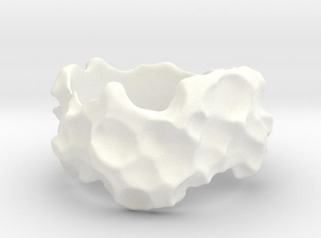 ELPIS Bracelet in White Processed Versatile Plastic