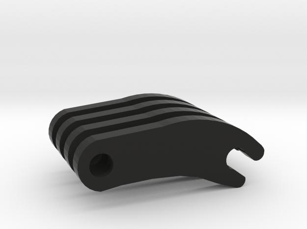 Macross VF-25 Gun Attachment in Black Natural Versatile Plastic
