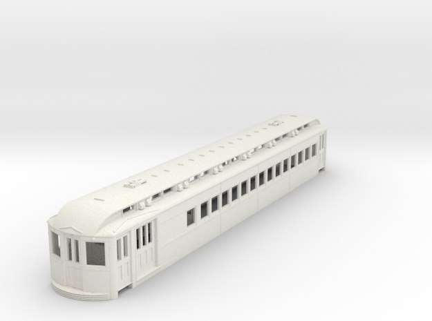 O Scale L&WV Combine-Long Body in White Strong & Flexible