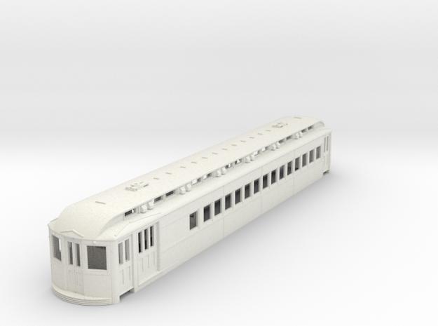 O Scale L&WV Long Steel Combine body in White Natural Versatile Plastic