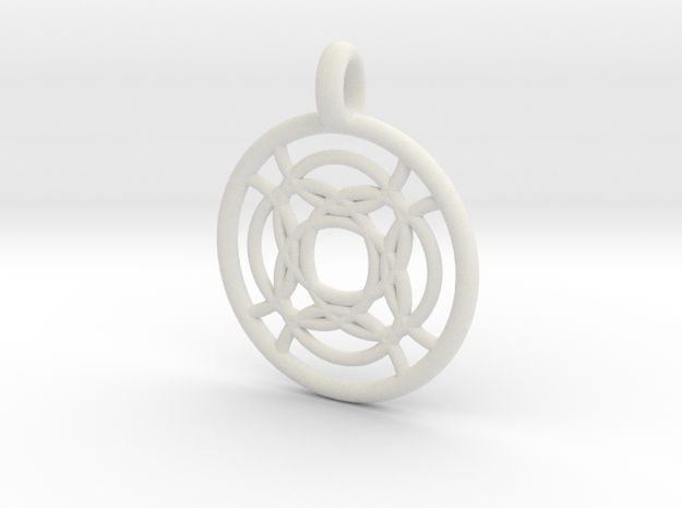 Taygete pendant 3d printed