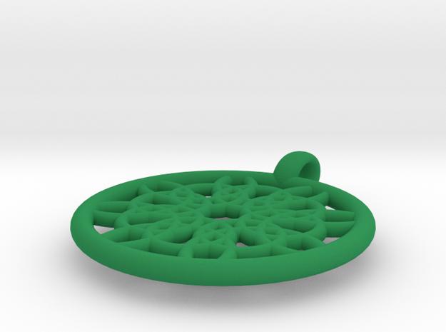 Mneme pendant 3d printed