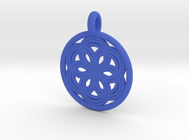 Thyone pendant 3d printed