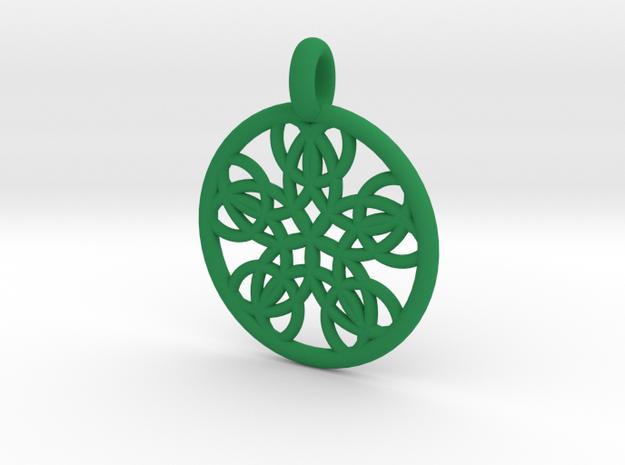 Isonoe pendant 3d printed