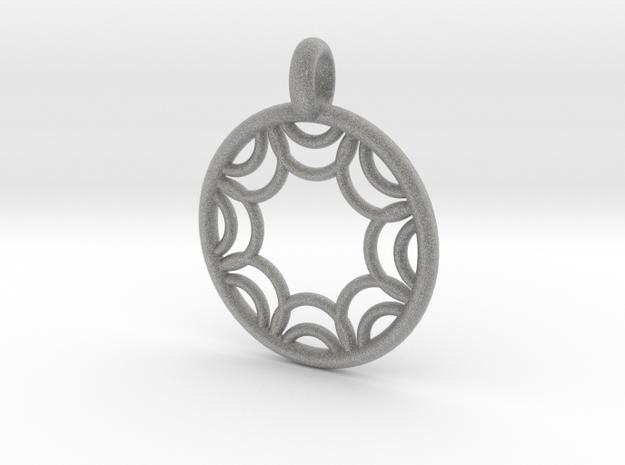 Euporie pendant 3d printed