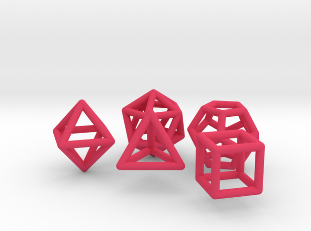 Platonic Solids Set