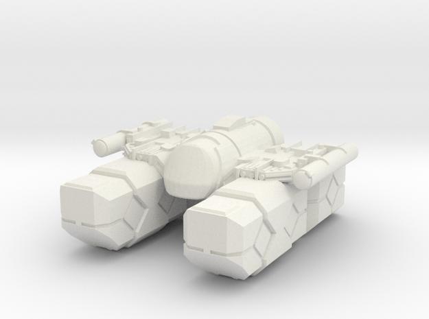 "COG - ""Lone Drifter"" in White Natural Versatile Plastic"
