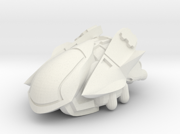 Pincer in White Natural Versatile Plastic