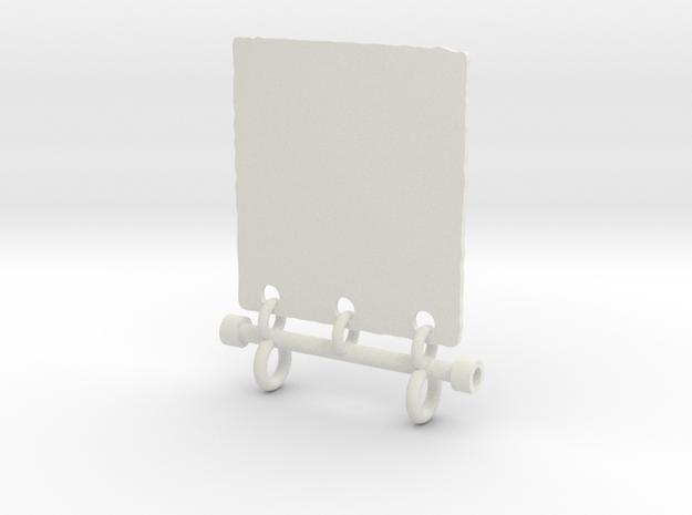Tara Yantra Pendant 3d printed Silver 2